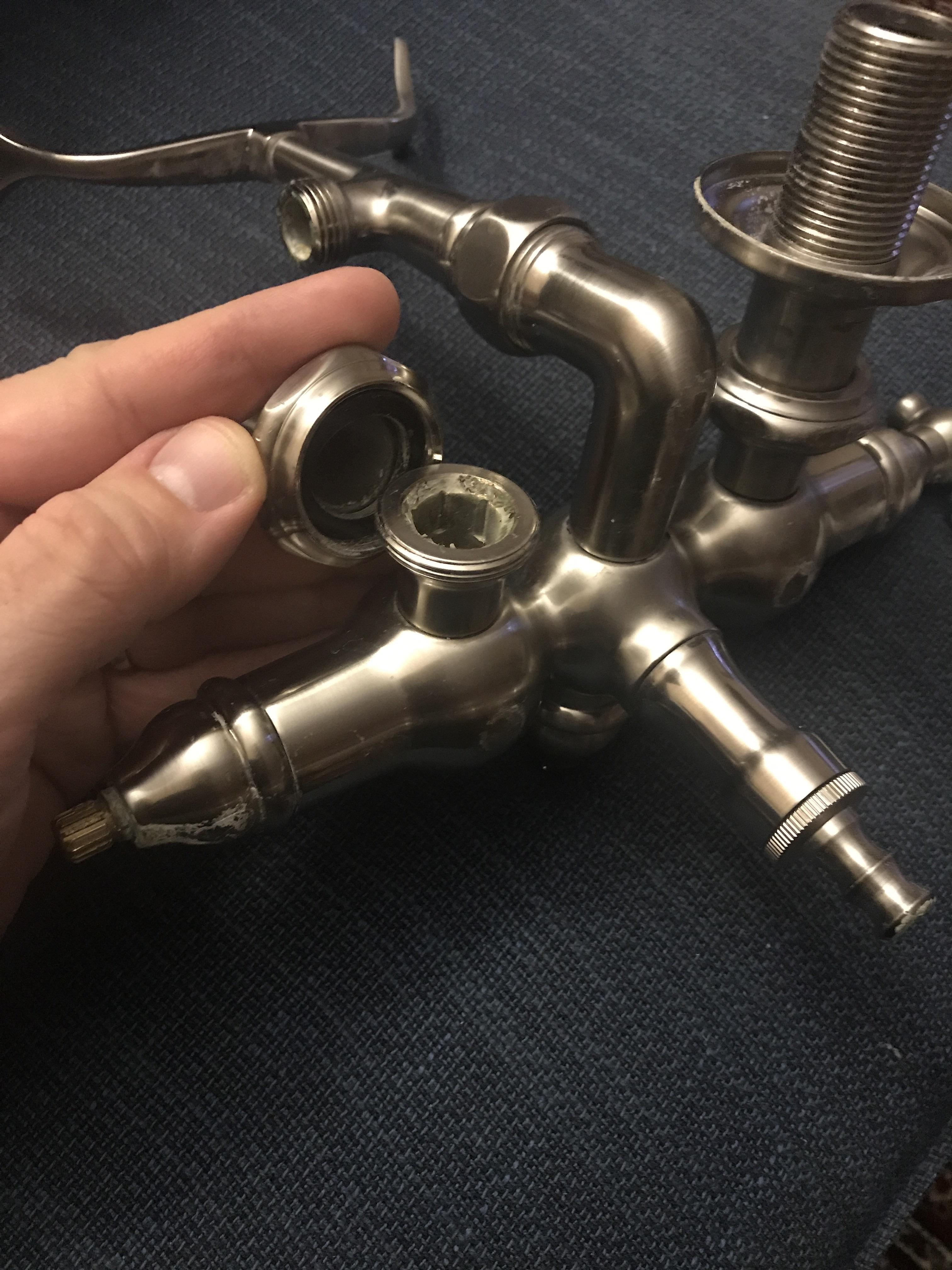 how can i replace the faucet stem parts