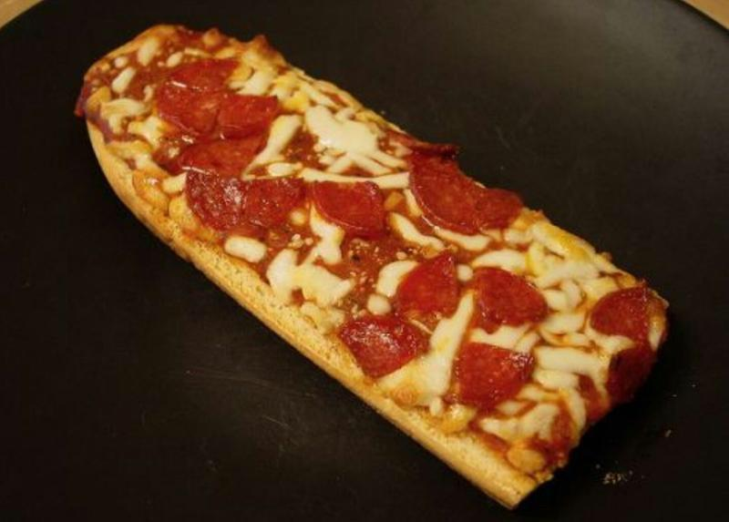 french bread pizza as a kid