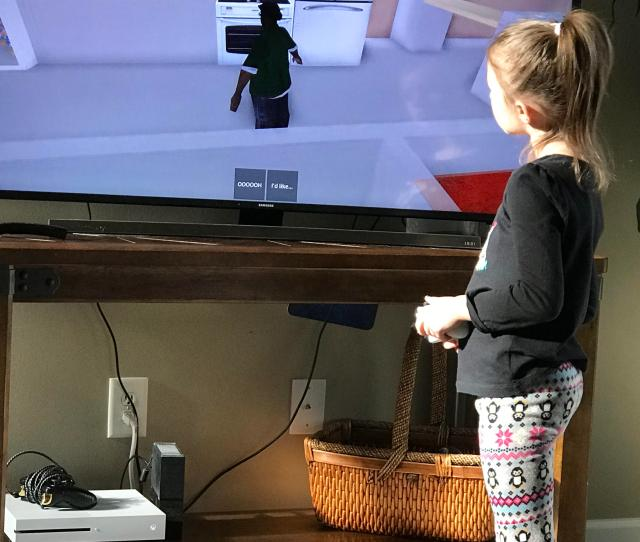 Caught My 4 Year Old Sister Playing As Big Smoke On Roblox