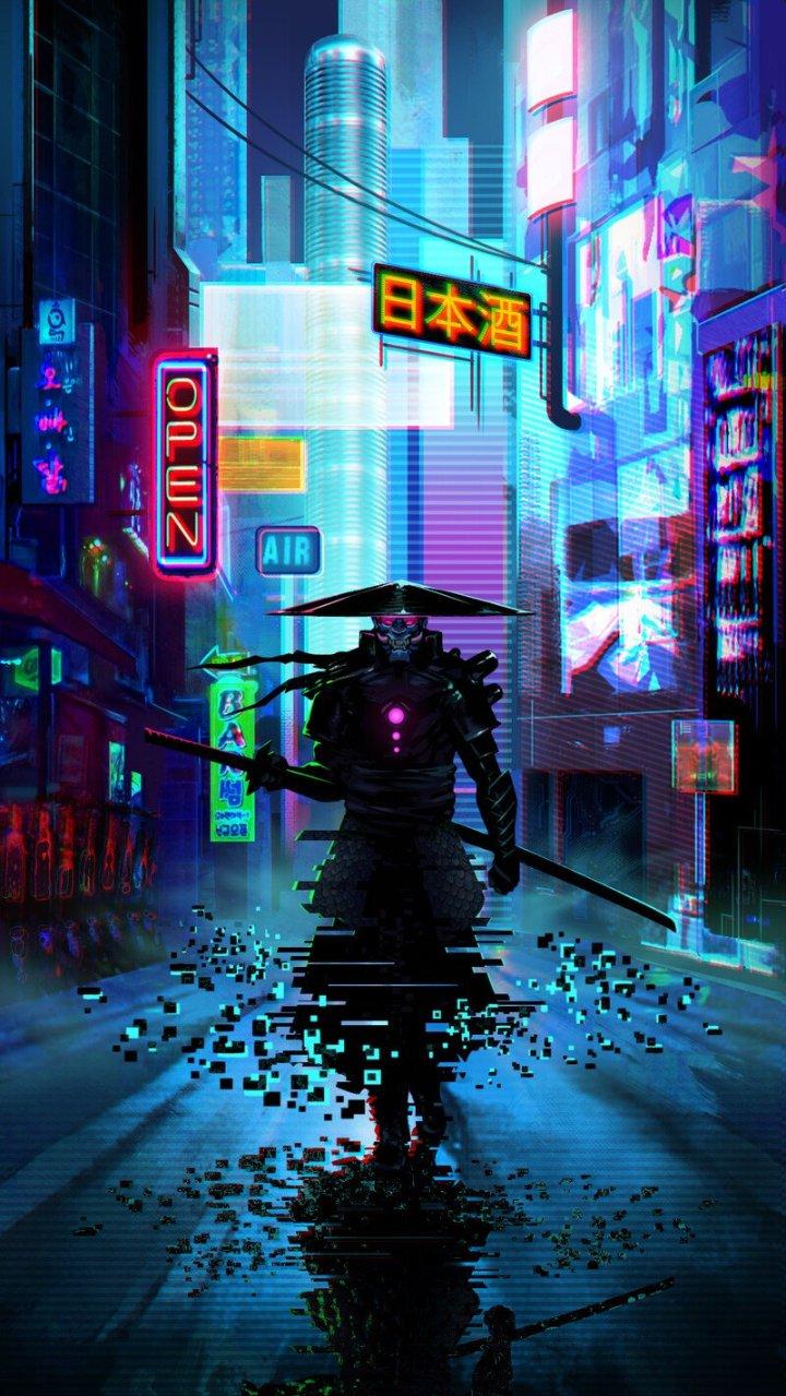 Futuristic Samurai (Not my work)