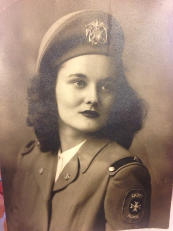 My Great Grandmother, who served in the U.S. Cadet Nurse ...