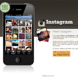 Obiettivo 500 milioni di dollari per Instagram, il social network delle foto
