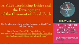A Video Explaining the Ethics and Development of the Covenant of Good Faith