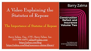 A Video Explaining the Statutes of Repose