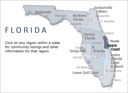 Space Coast - Florida 55+ Retirement Communities and Homes ...