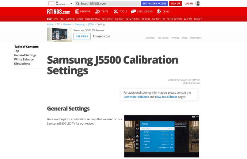 Tv Color Calibration Website | mountainstyle co