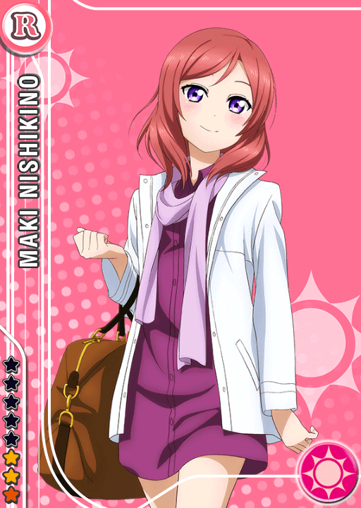 School Idol Tomodachi Cards Album 574 Nishikino Maki R