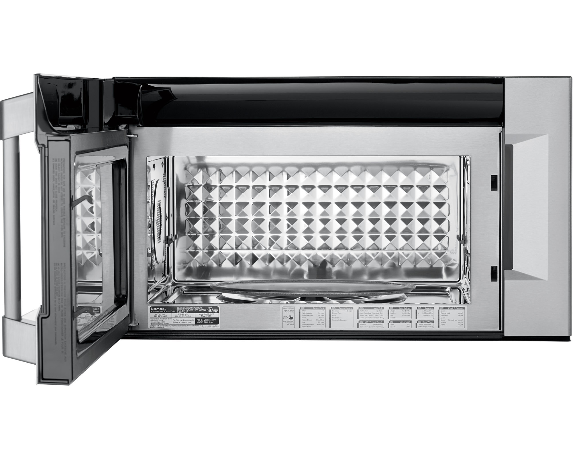 kenmore pro 89393 1 8 cu ft over the