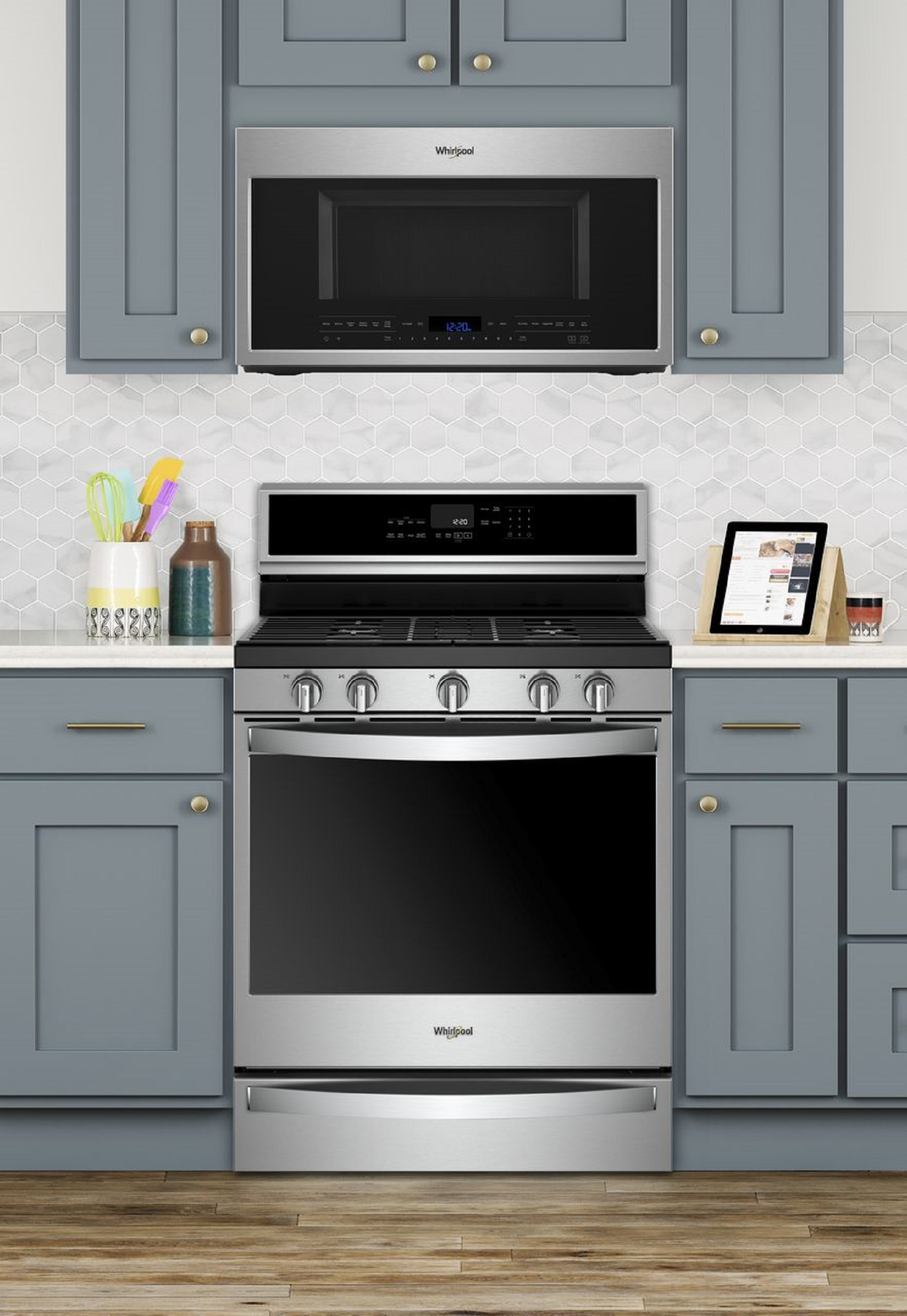 whirlpool wmh75021hz 2 1 cu ft over the range microwave with steam cooking
