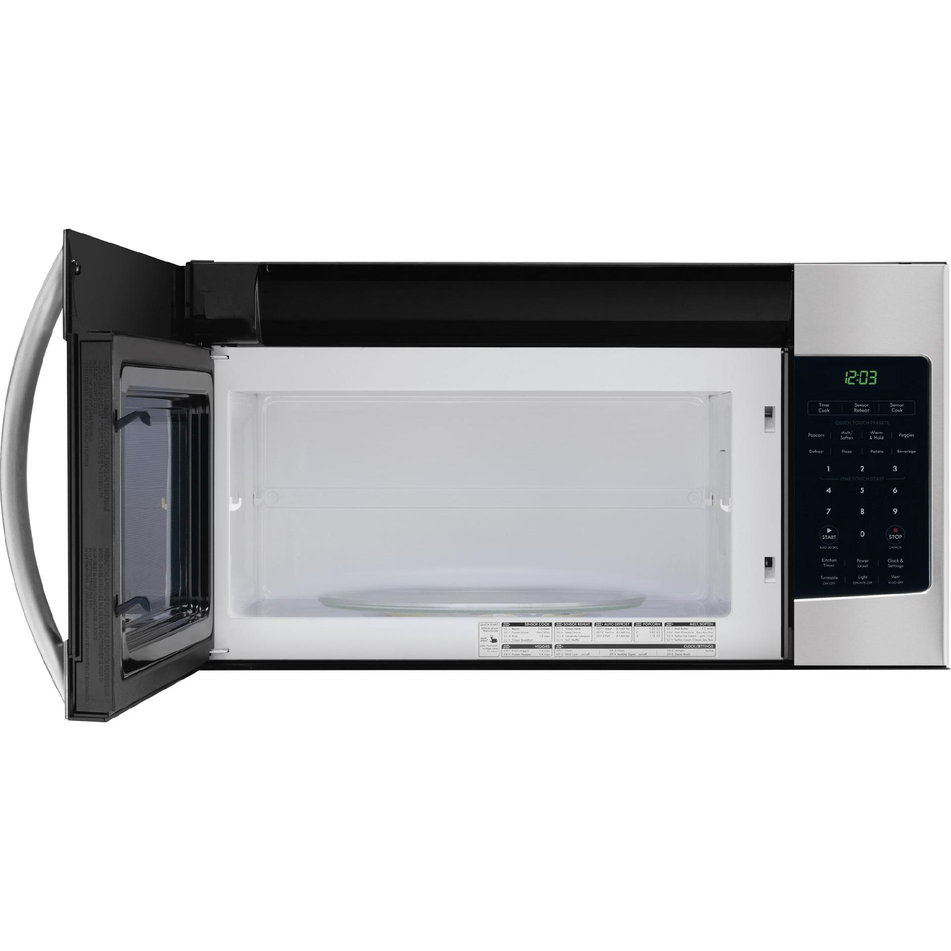 kenmore 80333 1 7 cu ft over the