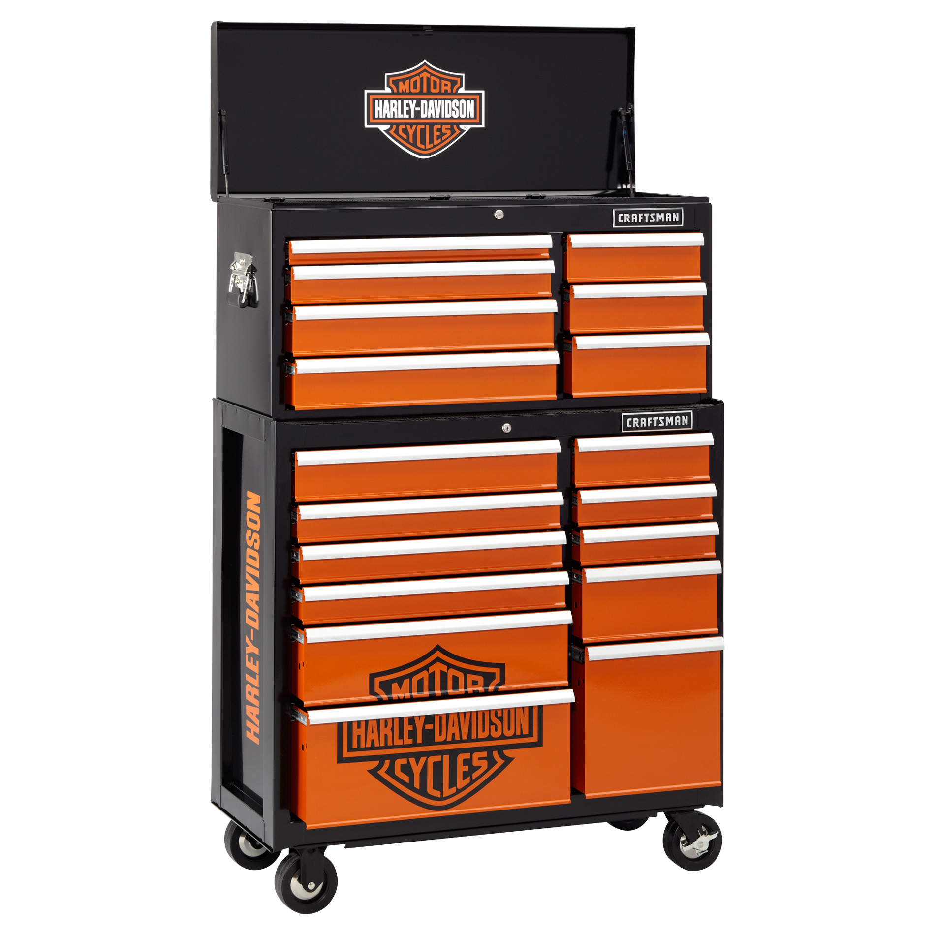 Homak Side Tool Box Cabinet