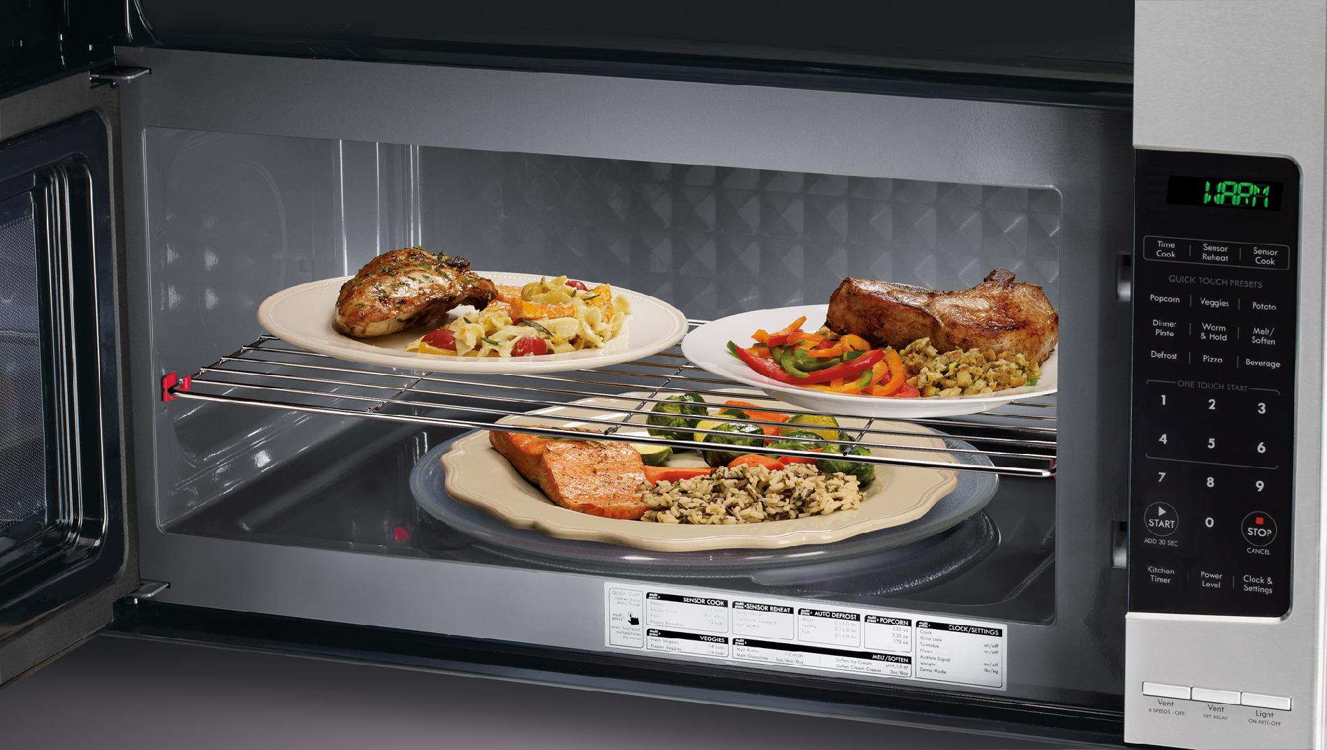 kenmore 80353 2 1 cu ft over the range microwave stainless steel
