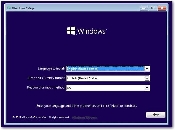 Image result for how to reinstall windows 10 with usb