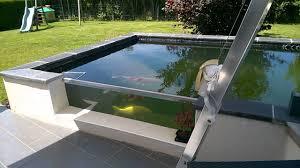 bassin hors sol 400 l sur terrasse d