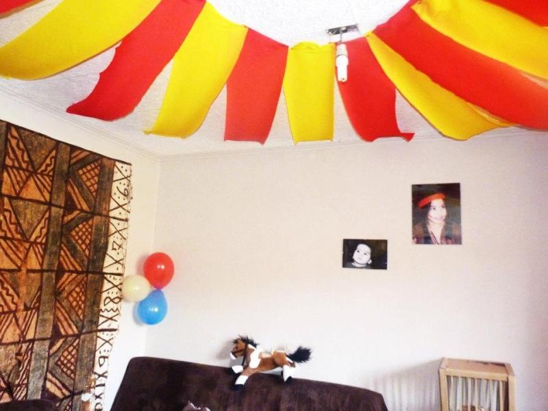 Anniversaire Sur Le Thme Du Cirque
