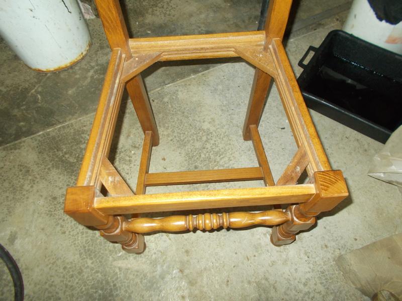 Refaire Une Assisse De Chaise