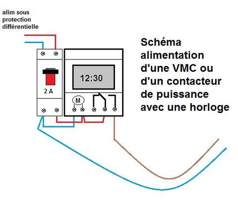 Cabler Un Interrupteur Horaire Sur Une Vmc Simple Flux