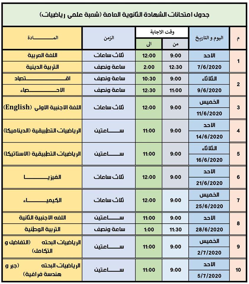 وزير التعليم يرد على مطالب بتأجيل امتحانات الثانوية العامة 41070