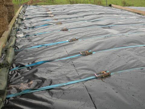 tapis de mine pour silo d ensilage