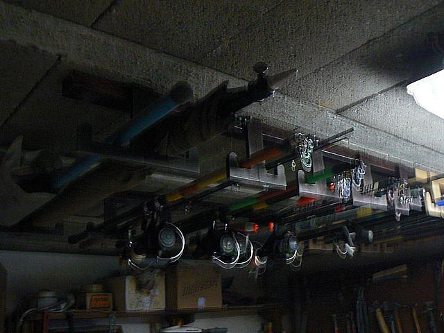 rangement canne a peche plafond venus