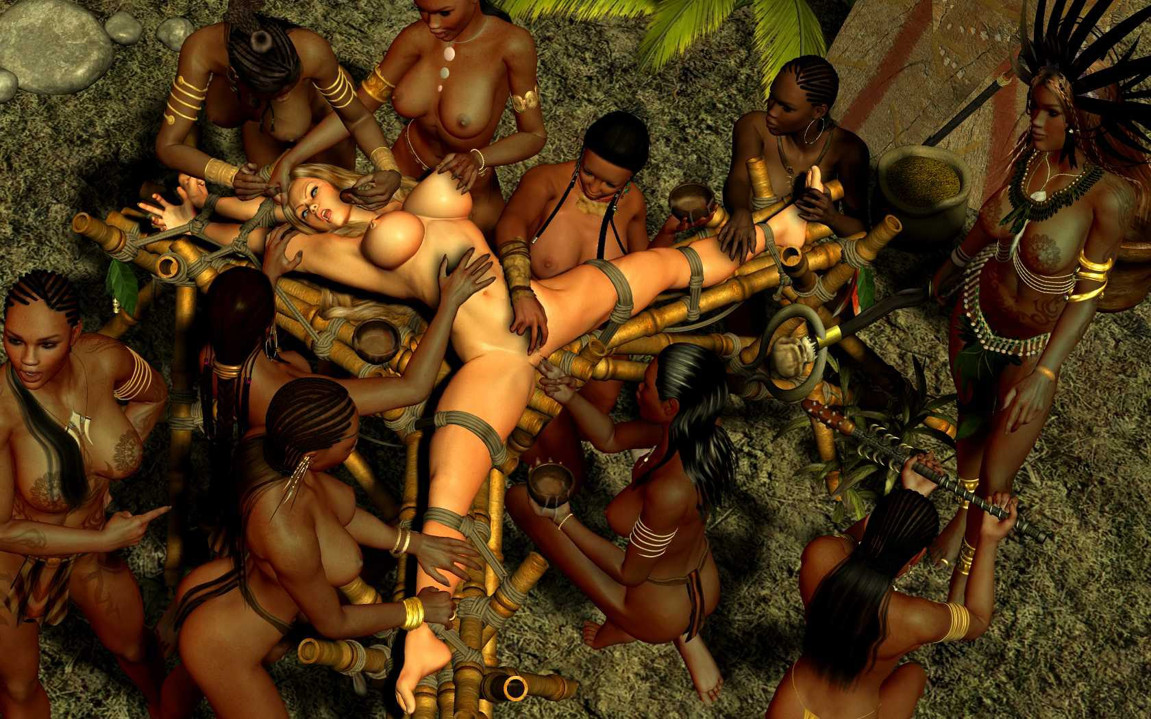 Pictures of jungle people having sex