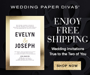 Wedding Paper Divas - 30% off Save the Date invitations