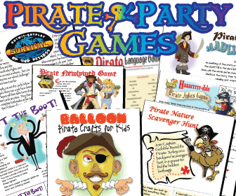 Printable Pirate Party Games Pack