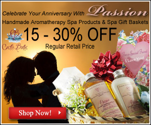 anniversary spa gift baskets from castle baths