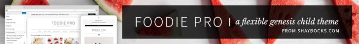StudioPress Premium WordPress Themes: Foodie Pro Theme