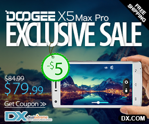 Save Up to Extra $5 on Doogee Cell Phones</div data-recalc-dims=