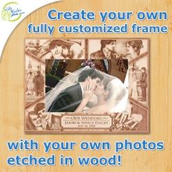 Custom Engraved Frames