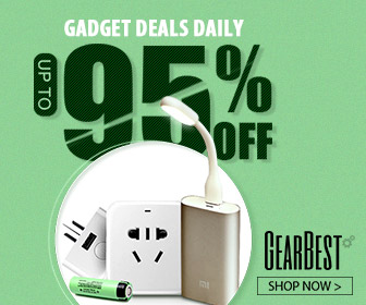 Gearbest Gadgets Daily: Up to 95% OFF