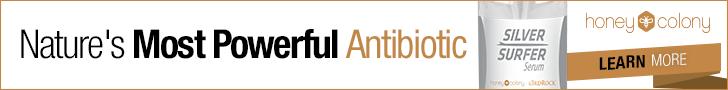 HoneyColony Silver Surfer Natural Antibiotic Serum
