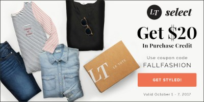 Receive unlimited boxes of women's apparel and accessories each month with Le Tote!