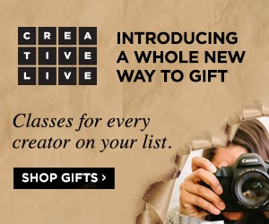 Sign Up at CreativeLive