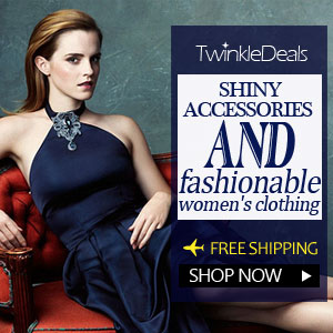 Welcome to twinkledeals.com and have a look, dizzy you with the shiny accessories and latest fashion clothing!