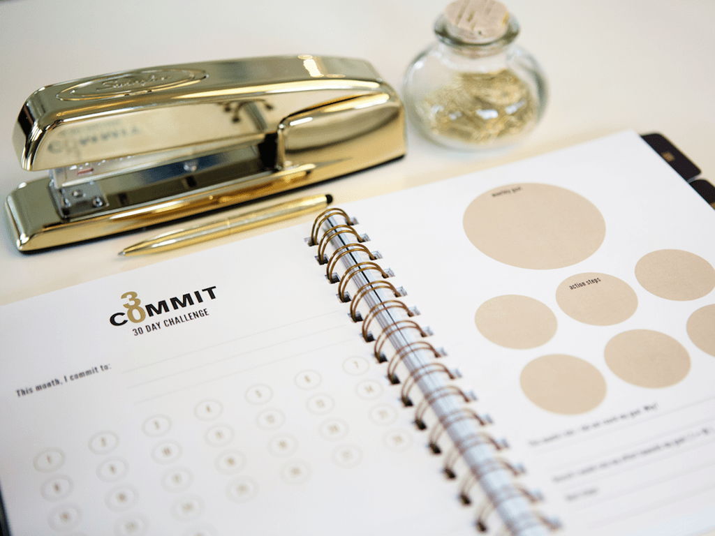 Commit30 Planner - Start your 30 Day Challenge