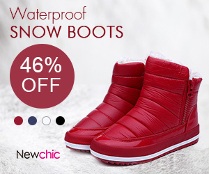 46% Off Women Waterproof Pure Colour Snow Boots , fall fashions, trending women's fashions