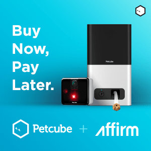 Petcube Play+Bites Bundle with Affirm