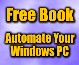 Free Windows Automation E-Book
