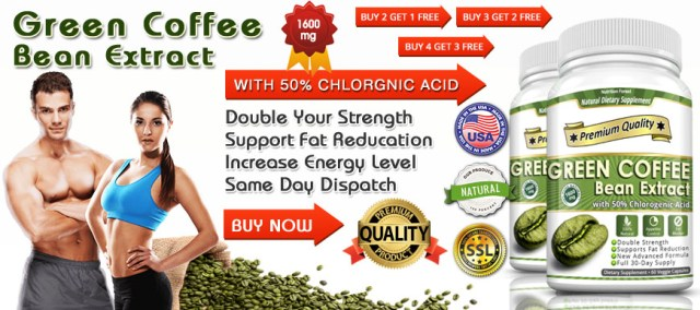 Green Coffee Bean Extract 1600mg