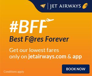 Jet Airways Banner