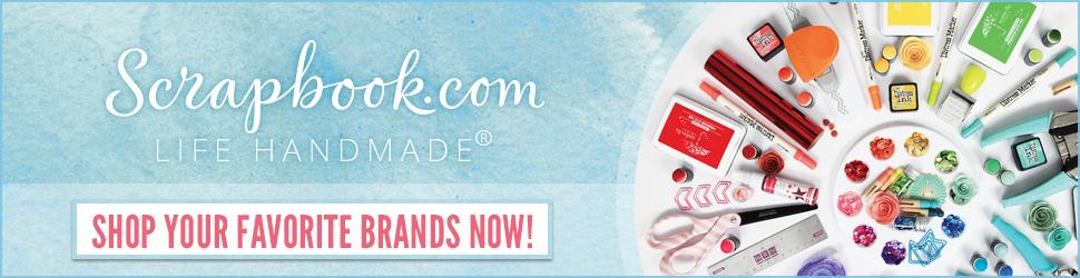 Shop Your Fav Brands at Scrapbook.com