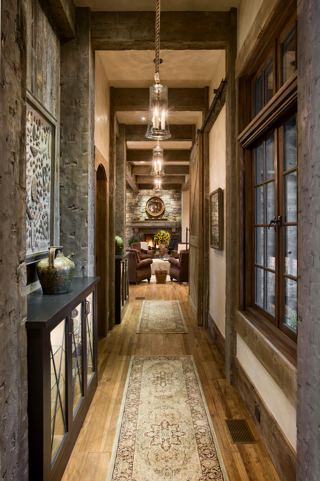 55 Cool Hallway Decor Ideas   Shelterness 55 Cool Hallway Decor Ideas  rustic style suits well any hallway