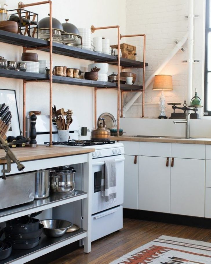 Open Shelves Great Additions Standard Kitchen Cabinets