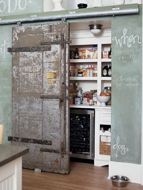 pantry barn door ideas