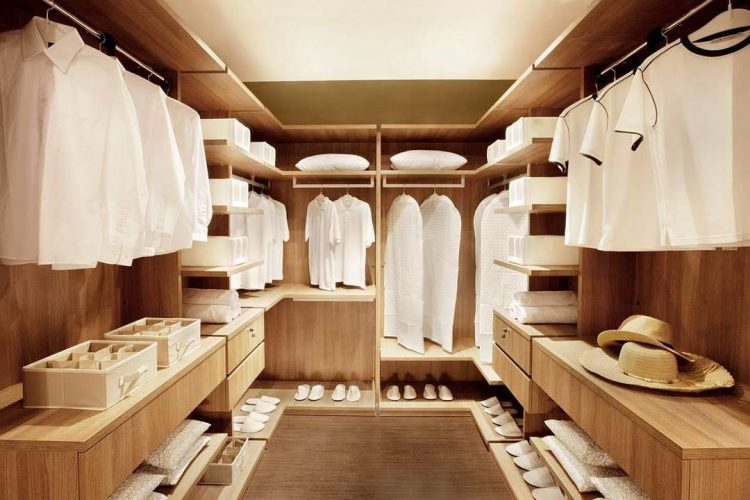 Real Wood Wardrobe Closets