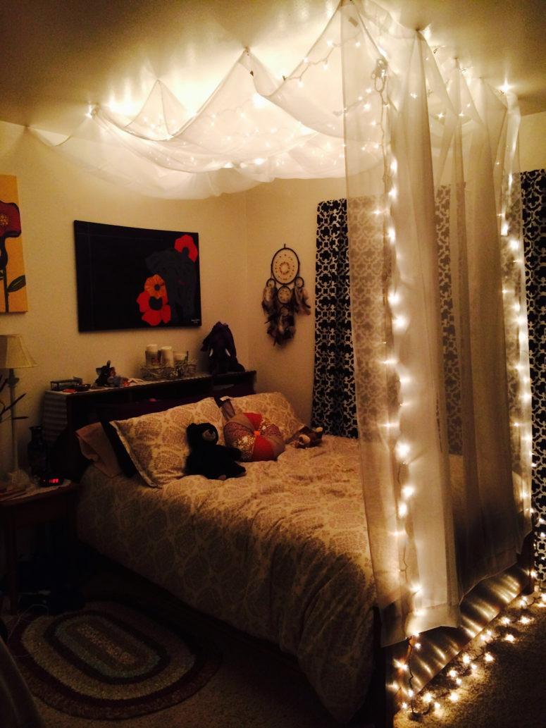 Christmas Led Lights Bedroom Ideas Novocom Top
