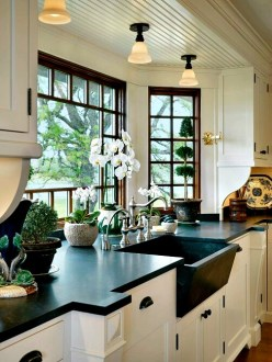 50 Cool Bay Window Decorating Ideas   Shelterness The natural light coming from bay windows could make your cooking process  much cooler