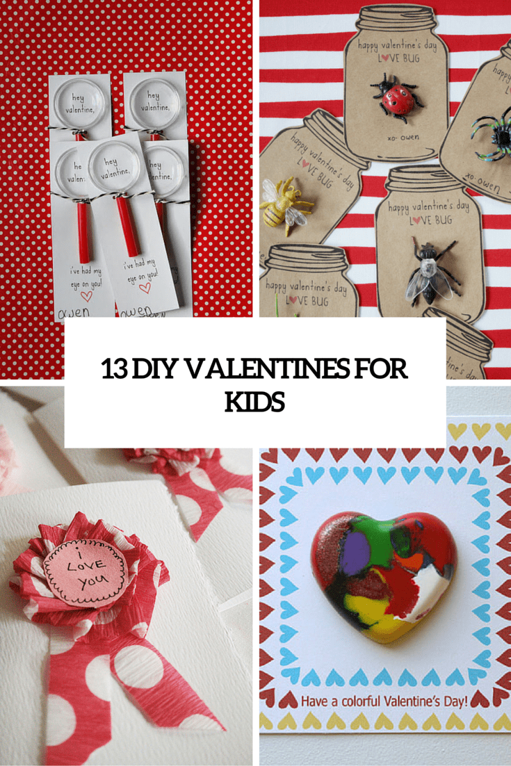 Diy Valentines For Kids Diy Do It Your Self